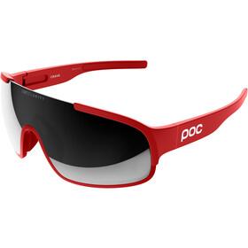 POC Crave Sunglasses prismane red/violet/silver